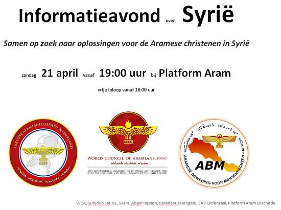informatieavond Syrie